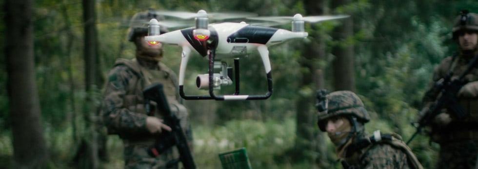 MyDefence Drone Swarm Jammer